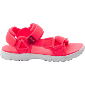 Jack Wolfskin Seven Seas 3 Sandały Dzieci, coral pink